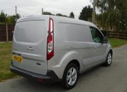 2016 66 ford transit connect limited swb l1 silver 41k euro 6 120ps